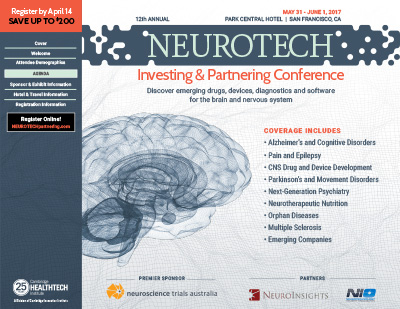 2017 Neurotech Investing and Partnering Conference Brochure